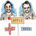 love hate apple
