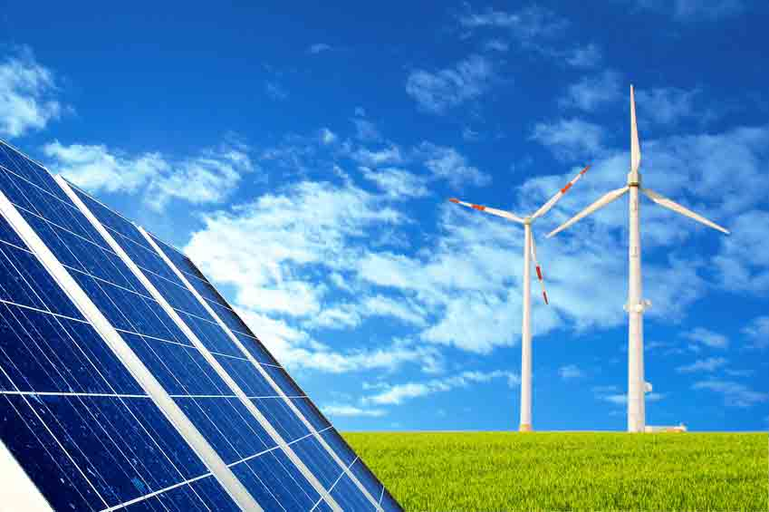 renewable energy solar and hydro research assignment